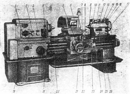 Станок токарно-винтовой 1К625