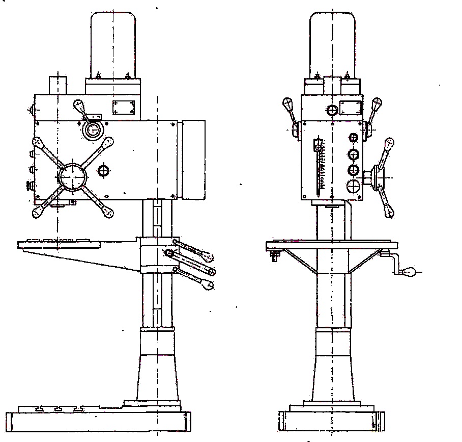 Станок вертикально-сверлильный 2С125