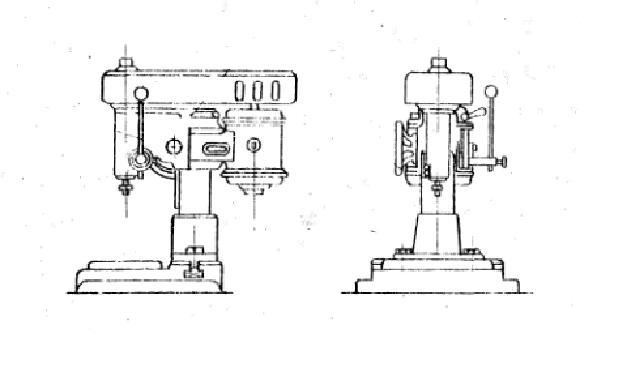 Станок вертикальный сверлильный типа С-25