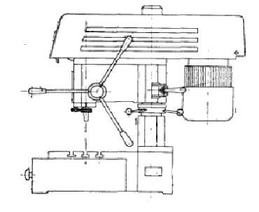 Станок настольно-сверлильный вертикальный 2М112