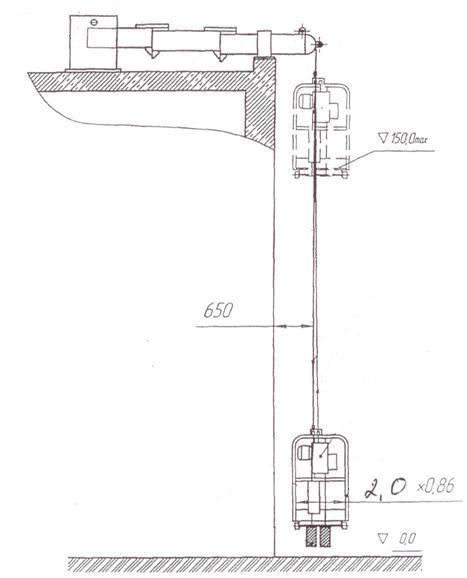 Подъемник фасадный 3851Б