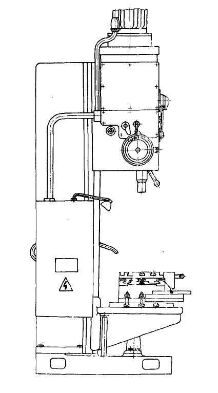 Станок вертикально-сверлильный 2С132