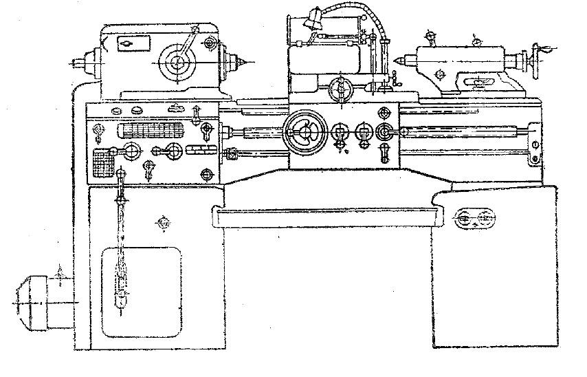Станок токарно-винторезный 95ТВ