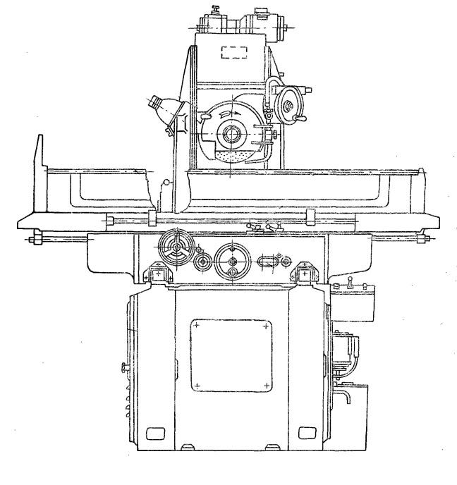 Станок плоскошлифовальный высокой точности 3Г71