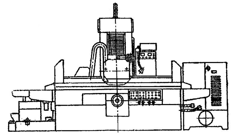 Станок плоскошлифовальный 3Л722В