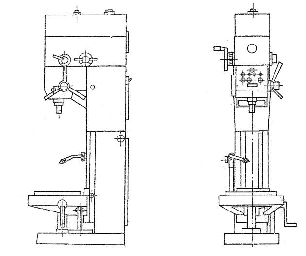Станок вертикально-сверлильный 2Г125