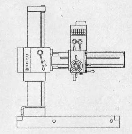 Станок радиально-сверлильный ГС545
