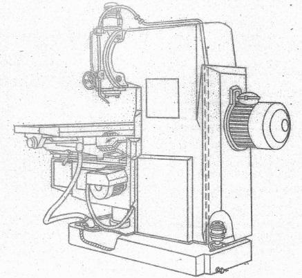 Станок фрезерный консольный 6Т12Ф20-1, 6Т13Ф20-1