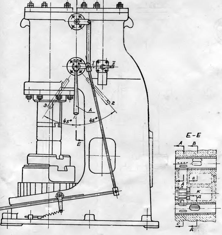 Молот пневматический ковочный МВ-412