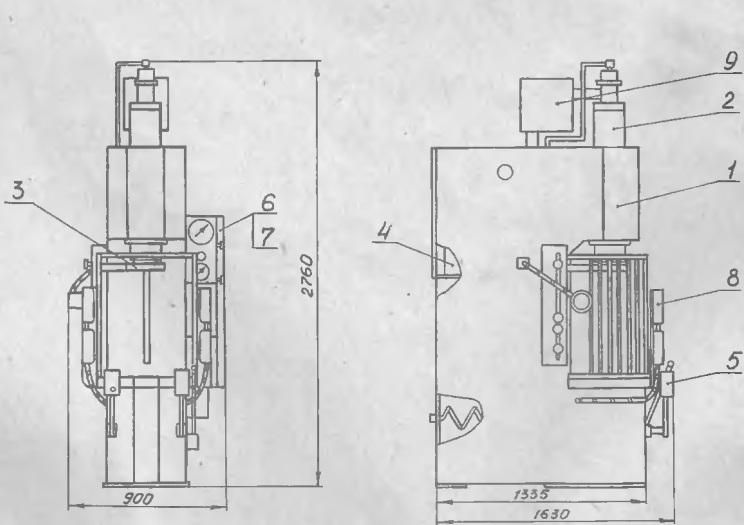 Пресс гидравлический П6324Б