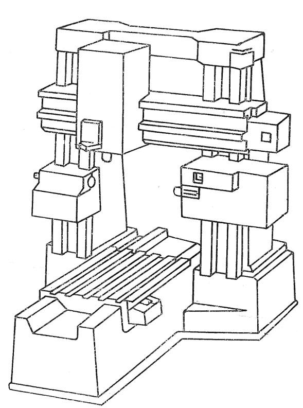Станок координатно-расточной 2В460, 2Б460, 2А470