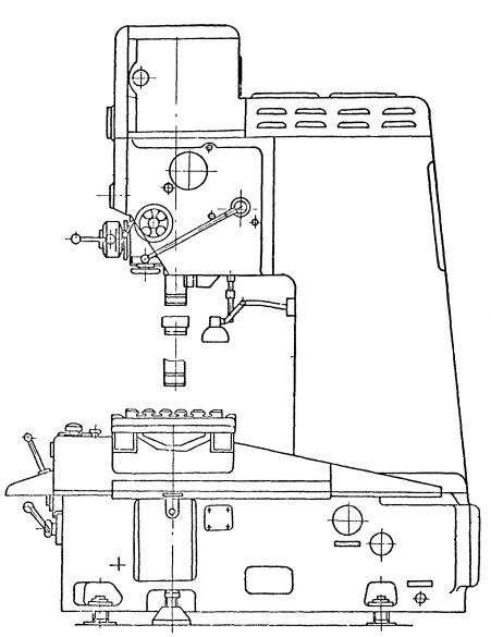 Станок координатно-расточной 2Е440А