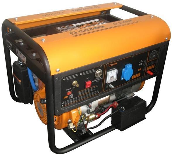 Газовые генераторы электричества: виды, использование, хранение, транспортировка