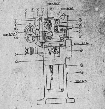 Полуавтомат для заточки дисковых сегментных пил 3692