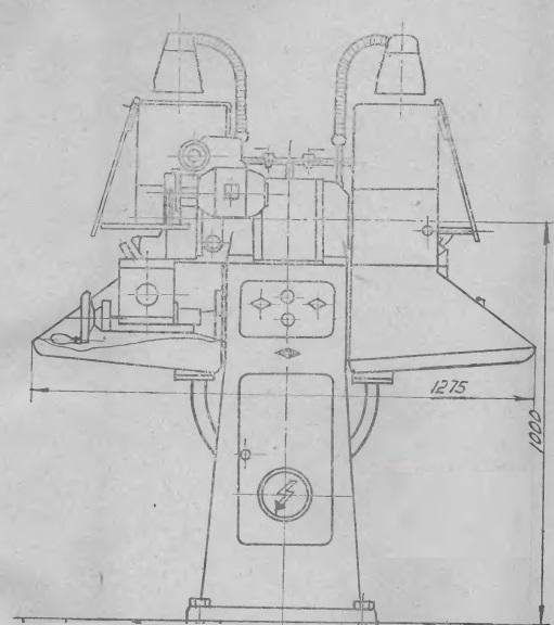 Станок для заточки резцов 3Б632В