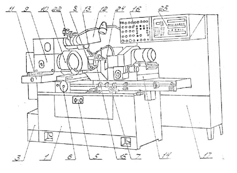 Полуавтомат внутришлифовальный высокой точности 3М227АФ2