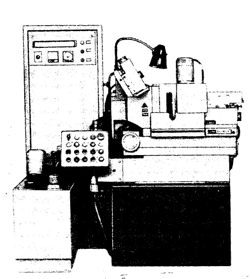 Полуавтомат круглошлифовальный бесцентровый 3Е180В
