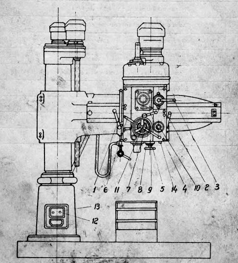 Станок радиально сверлильный 2А55