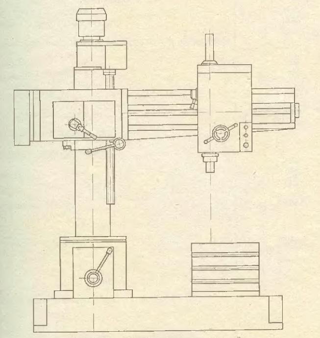 Станок радиально-сверлильный 2С550А