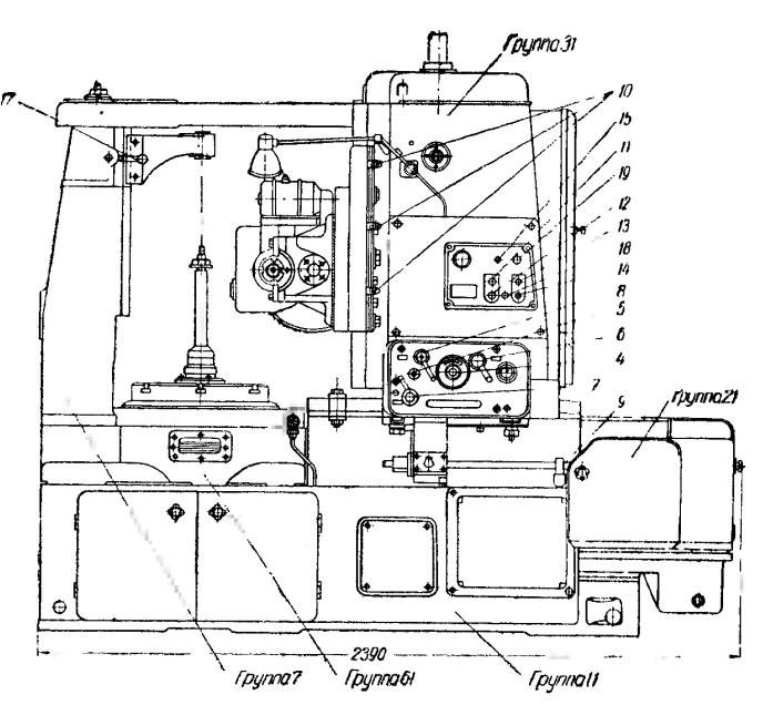 Станок универсальный фрезерный 5Е32