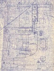 Молот ковочный пневматический МБ4134