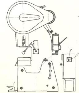 Пресс однокривошипный усилием 40тс КБ2326
