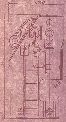 Пресс специальный, механический-эксцентриковый усилием 160тс 001Е