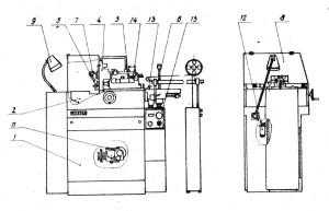 Станок токарно-продольный автомат 1В06А