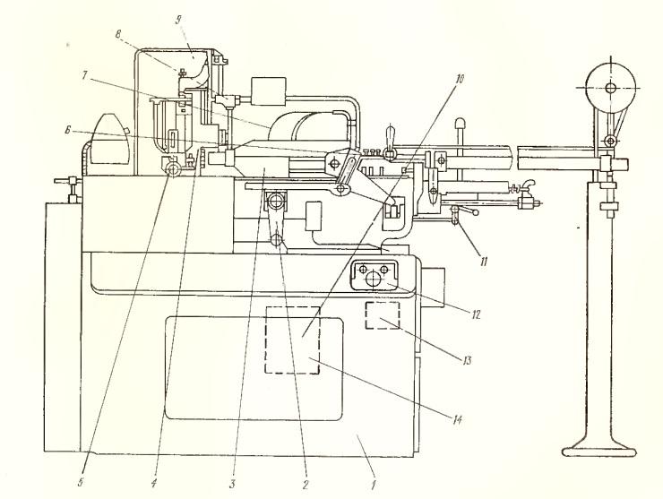 Станок токарно-продольный 11Т16А