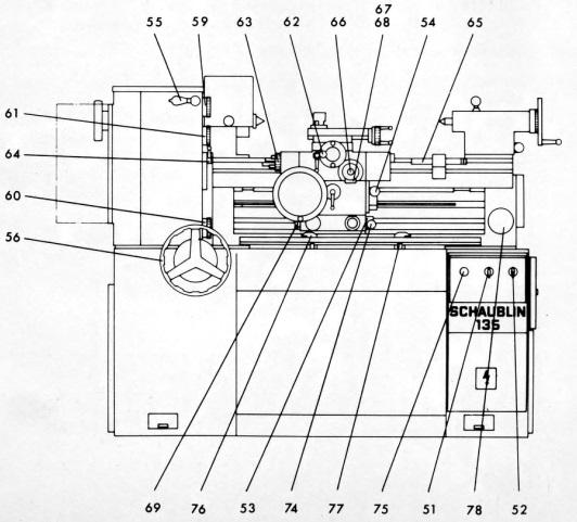 Станок токарный Шаублин 135