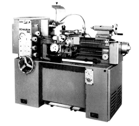 Станок токарный Шаублин 150