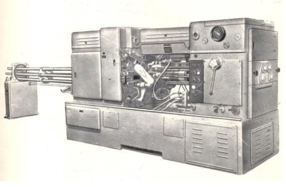 Станок шестишпиндельный токарный прутковый 1А225-6