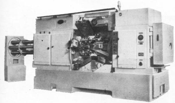 Автомат токарный горизонтальный повышенной точности 1Б265