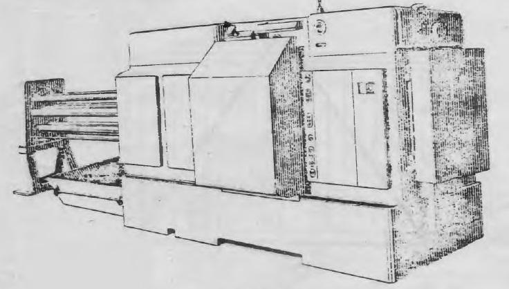 Автомат горизонтальный шестишпиндельный токарный 1265М-6