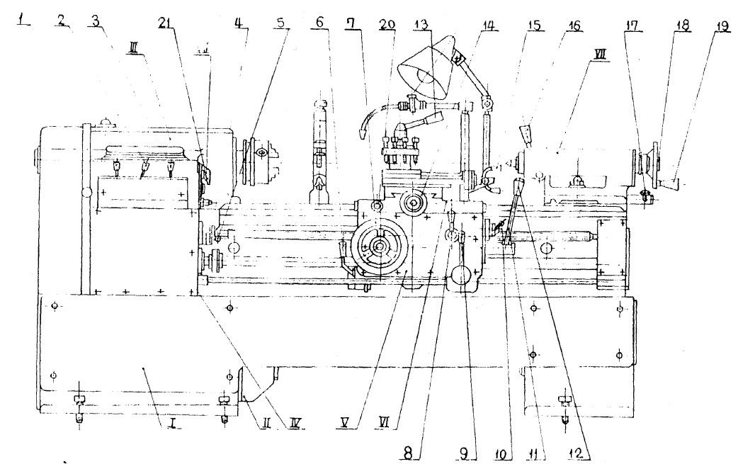 Станок токарный Кусон-3