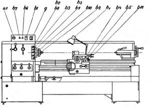 Станок токарный SNA360, SNA400