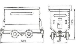 Паспорт на Вагонетку шахтную грузовую ВГ-1,2-600, ВГ-1,2-750
