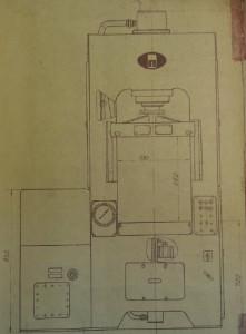 Пресс гидравлический усилием 40тс П481А