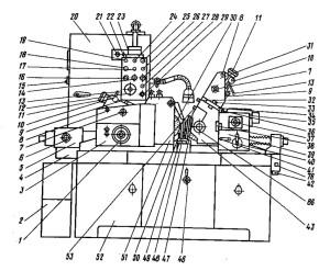 Станок круглошлифовальный бесцентровой 3М182, 3М184