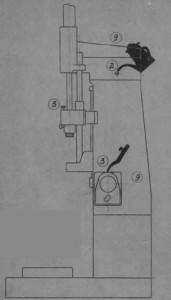 Станок одношпиндельный вертикальный хонинговальный ОС-66