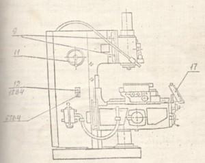 Станок консольный вертикально-фрезерный FSS350R, FSS450R