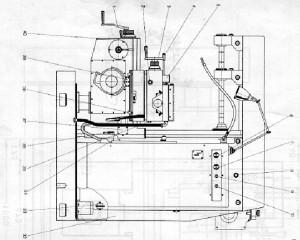 Станок фрезерный универсальный ФУ-321