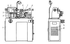 Станок токарно-винторезный 1603, 1Е604
