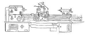 Станок токарно-винторезный 1624М