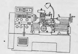 Станок токарно-винторезный особо высокой точности 16Б16К, 16Б16А
