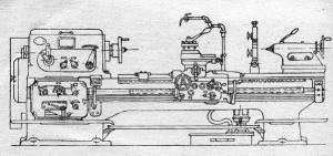 Станок токарно-винторезный 1Д63А