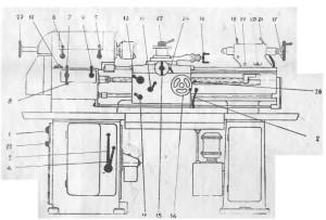 Станок токарно-винторезный ТВ-320, ТВ-320П