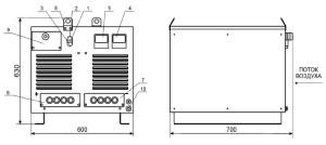 Выпрямитель для дуговой сварки ВДМ-6303С У3