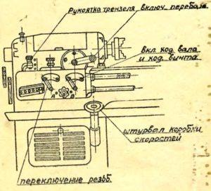 Станок токарно-винторезный 1615-А