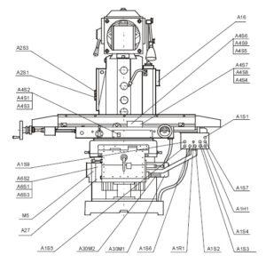 Станок вертикальный фрезерный ФВ321М